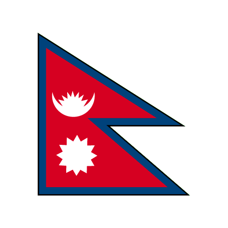 Drapeau Nepal 50*75 cm
