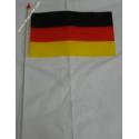 Drapeau plastique Allemagne
