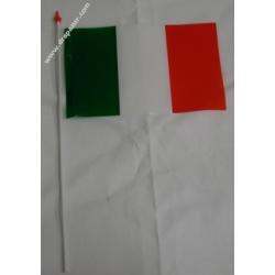 Drapeau plastique Italie