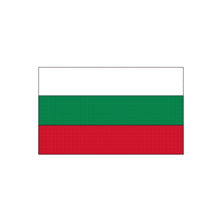 Drapeau de table Bulgarie