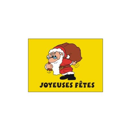 Drapeau Père Noël 50*75 cm