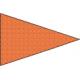 Flamme Orange 150*225 cm