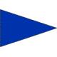 Flamme Bleue 150*225 cm