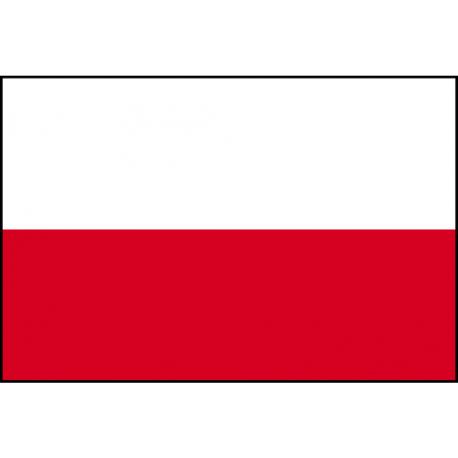 Drapeau de Prestige Pologne