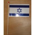 Drapeaux plastiques Israël