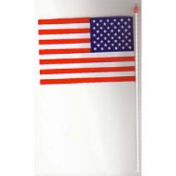 Drapeau plastique états unis