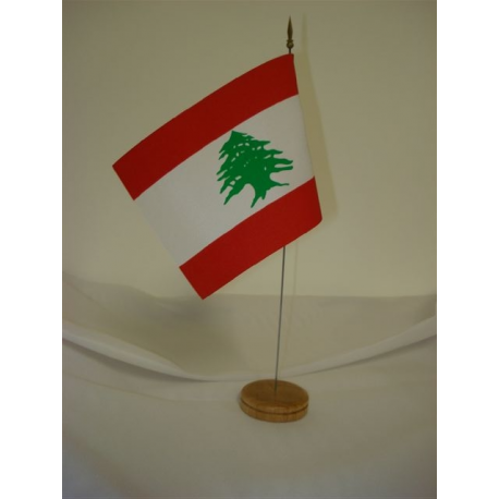 Drapeau de table Liban