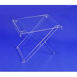 Petite table d'appoint, pliée en X