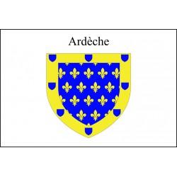 Drapeau Ardèche