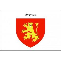 Drapeau Aveyron