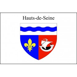 Drapeau Hauts de Seine