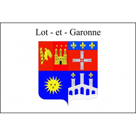 Drapeau Lot et Garonne