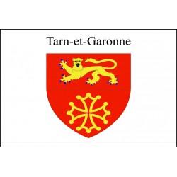 Drapeau Tarn et Garonne