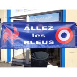 """Banderole """"Allez les Bleus"""""""
