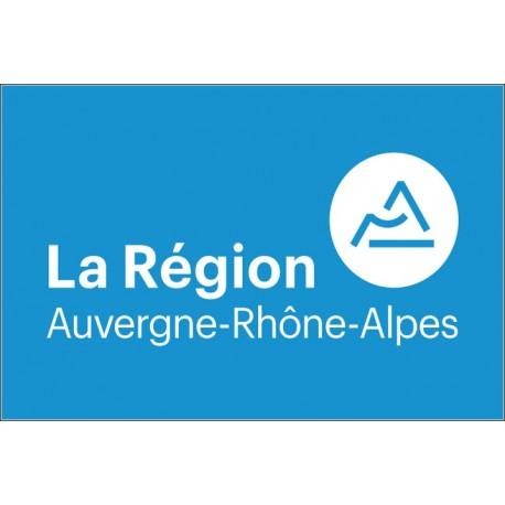 Drapeau Région Auvergne-Rhône-Alpes 100*150 cm
