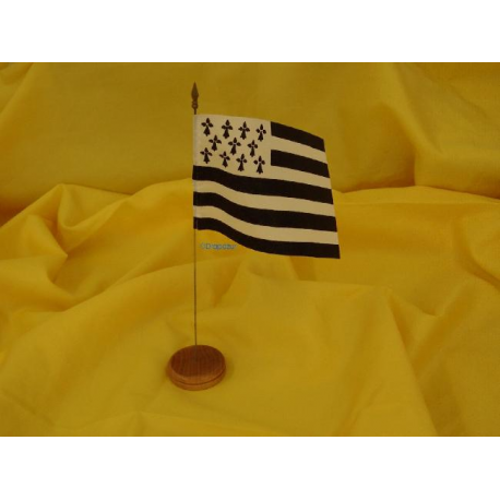 Drapeau de table Bretagne