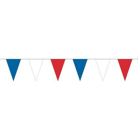 Guirlande plastique France, triangles