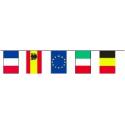 Guirlande plastique pays Européens