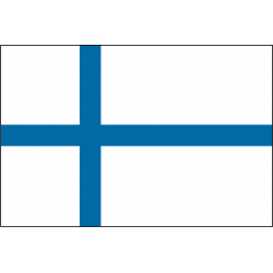 Drapeau de table Finlande