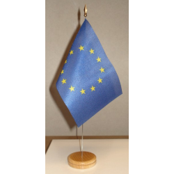 Drapeau de table Europe