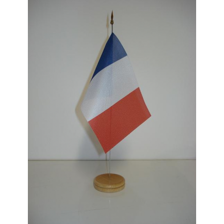 Drapeau de table France