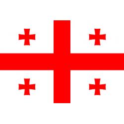 Drapeau Géorgie